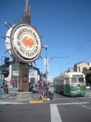 san francisco,california,cable car,viaggio in california,sognando l'america